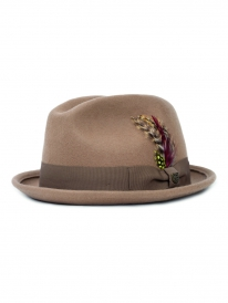 Brixton Gain Hat (tan/bronze)