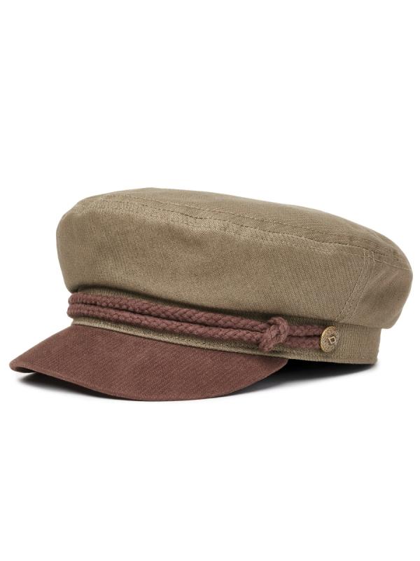 Brixton Fiddler Cap (army/bison)
