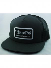 Brixton Grade Mesh Cap (charcoal/black)