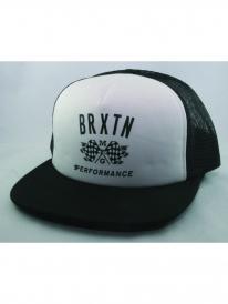 Brixton Piston Mesh Cap (white/black)