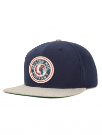 Brixton Rival Cap (navy/light heather grey)