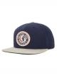 Brixton Rival Cap (navy/light heather grey)
