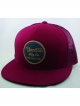 Brixton Wheeler Mesh Cap (burgundy/navy)