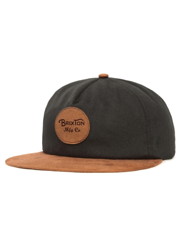 Brixton Wheeler Cap (black/copper)