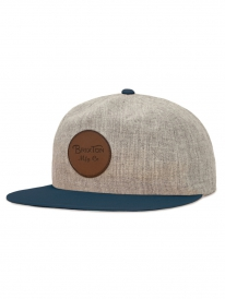 Brixton Wheeler Cap (heather grey)