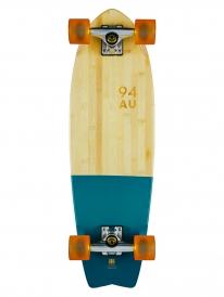 "Globe Sun City 30"" Komplett Longboard (half dip bamboo/blue)"