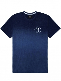 Huf Galaxies Dipped Heather T-Shirt (navy)