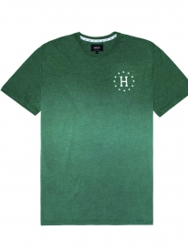 Huf Galaxies Dipped Heather T-Shirt (forest green)