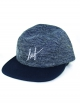 Huf Heathered Pique Volley 5-Panel Cap (blue)