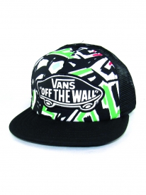 Vans Beach Girl Trucker Cap (white/multi)