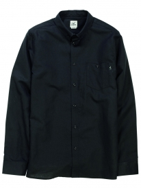 Cleptomanicx Linen Hemd (black)