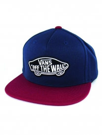 Vans Classic Patch Cap (dress blues/rhubarb)