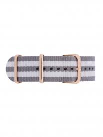 Kapten & Son Space Nylon Strap (grau/weiß)