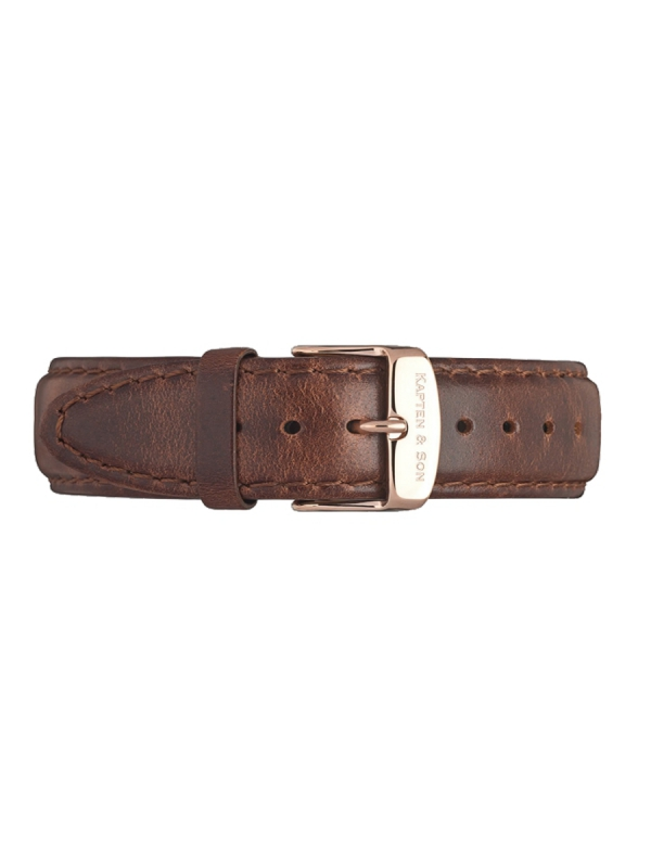 Kapten & Son Leather Strap Brown (braun)