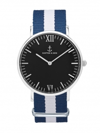 Kapten & Son Campus Sail Nylon (black/silver)
