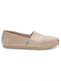 Toms Classic (natural metallic burlap)