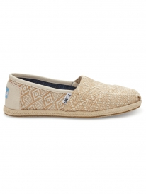 Toms Classic (natural woven rope sole)