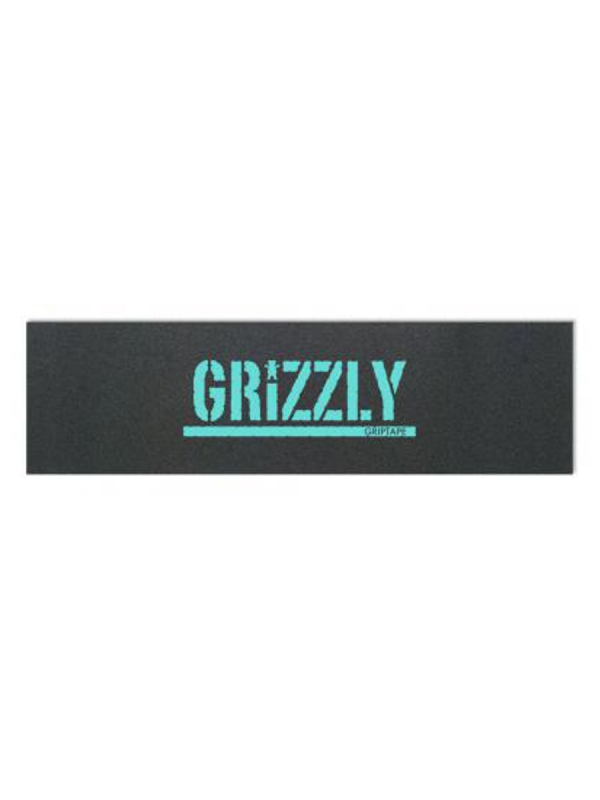 Grizzly Stamp Print Griptape (black/blue)