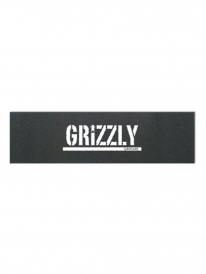 Grizzly Stamp Print Griptape (black/white)