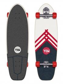 """YOW Street Surfing Hossegor Lane Cruiser 34"""" Komplett Longboard"""