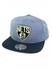 Mitchell & Ness Brooklyn Nets Heather Profile Cap (grey)