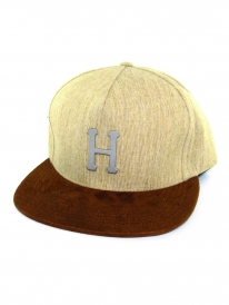 Huf Metal H Cap (tan)