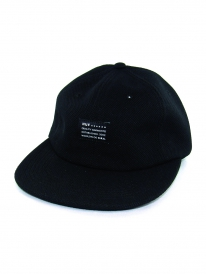 Huf Diamond Knit 6 Panel Cap (black)