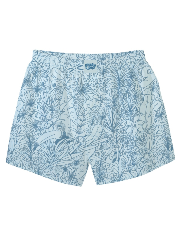 Cleptomanicx Tropical Boxershorts (beach glass)
