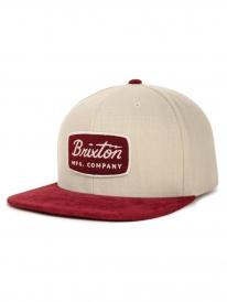 Brixton Jolt Cap (cream/burgundy)