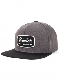 Brixton Jolt Cap (charcoal heather/black)