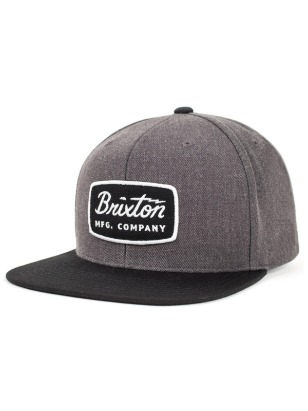Brixton Jolt Cap (charcoal heather/black)