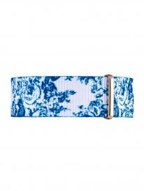 Kapten & Son Floral Aqua Nylon Strap (blau/floral)