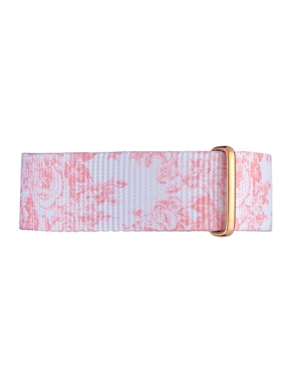 Kapten & Son Floral Peach Nylon Strap (rosa/floral)