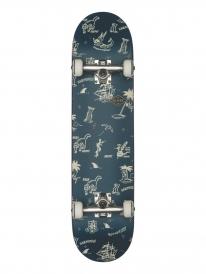 Globe Full On Skateboard Komplettbrett 7.75 Inch (navy/creswick)