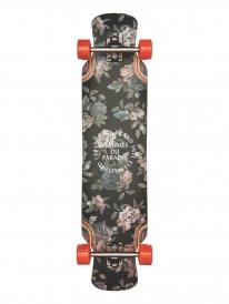 """Globe Siam 39.75"""" Komplett Longboard (jagged rose)"""