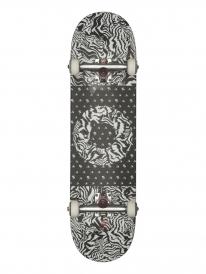 Globe Negative Skateboard Komplettbrett 8.25 Inch (black/white/tailspin)