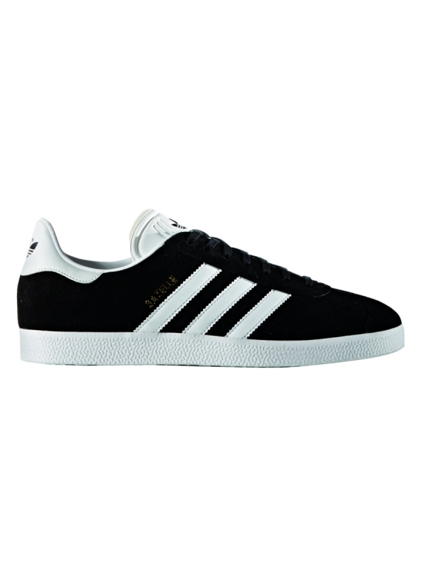 Adidas Gazelle (core black/white/gold metallic)