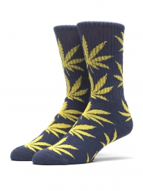 HUF Plantlife Crew Socken (west point/navy)