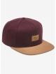 Reell Suede Cap (burgundy wool)