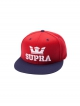Supra Above Snapback (red/navy)
