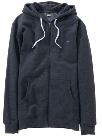 Cleptomanicx Ligull 2 Zip Hoodie (heather black)