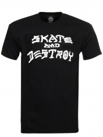 Thrasher Skate an Destroy T-Shirt (black)