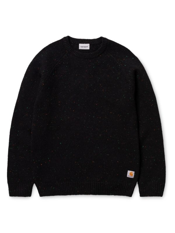 Carhartt Anglistic Strick Sweater (black heather)