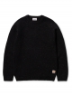 Carhartt WIP Anglistic Strick Sweater (black heather)