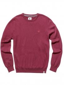 Element Crew Sweater (napa red)