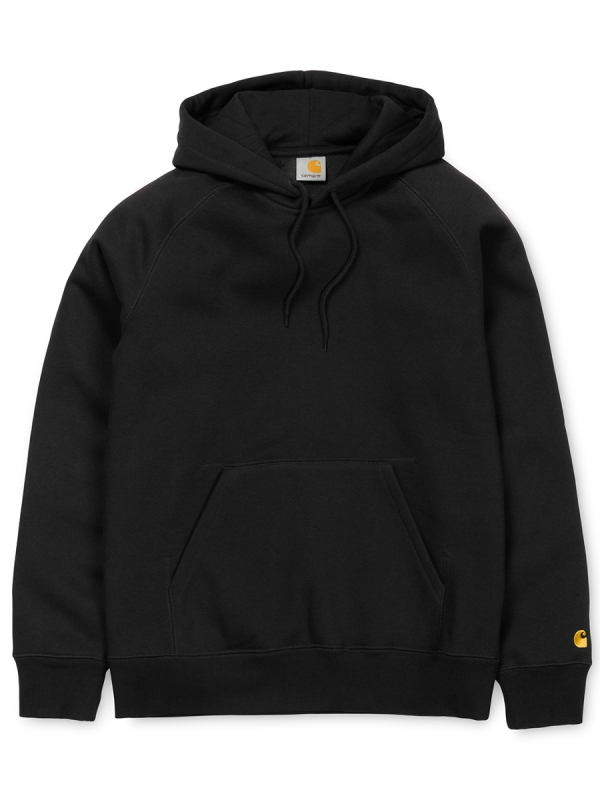 Carhartt Chase Hoodie (black/gold)
