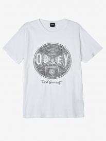 Obey Under Pressure T-Shirt (white)