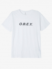 Obey O.B.E.Y. T-Shirt (white)