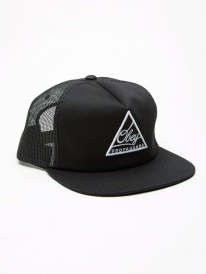 Obey New Federation Trucker Cap (black)