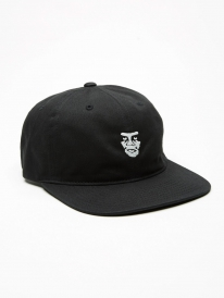 Obey Creeper 6 Panel Cap (black)